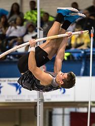 New Balance High School Indoor National Championships, boys pole vault, Deakin Volz wins, national record