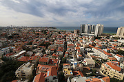 Aerial Photography of Tel Aviv, Israel The southern neighbourhoods