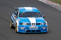 2008 British Touring Car Championship.  Oulton Park, Cheshire, United Kingdom.  26th-27th July 2008.  (43) - Chris Stockton (GBR) - BTC Racing SEAT Toledo.  World Copyright: Peter Taylor/PSP. Copy of publication required for printed pictures. Every used picture is fee-liable.