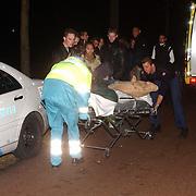 Steekpartij met 2 slachtoffers Huizermaatweg Huizen