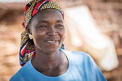 31 May 2019, Mokolo, Cameroon: 40-year-old Jacqueline Goizam serves as relay for the Lutheran World Federation in Zamay, working continuously with host community and internally displaced people alike to facilitate dialogue, thereby strengthening efforts for peaceful coexistence and social cohesion. One of 20 sites for Internally Displaced People in the Far North region of Cameroon, Zamay currently hosts 4,102 IDPs from the border area between Nigeria and Cameroon. Fleeing the atrocities of Boko Haram, and cross-border fighting between Boko Haram and Cameroonian coalition forces, the IDPs have settled alongside the host community of 32,000 people in Zamay.