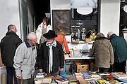 Gent, Belgie, Mar 14, 2009, Rommelmarkt Bij Sint Jacobs,©Christophe VANDER EECKEN
