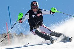 05.10.2011, Moelltaler Gletscher, Flattach, AUT, OeSV Medientag, im Bild  in Action beim Slalom Marc Digruber // During media day of Austria Ski Federation OeSV at Moelltaler glacier in Flattach, Carinthia, Austria on 5/10/2011. EXPA Pictures © 2011, PhotoCredit: EXPA/ J. Groder