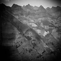 An epic mountainscape in Ha Giang province, northern Vietnam.