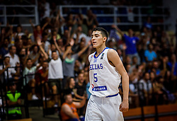 Nikolaidis  Alexandros of Greece during basketball match between National teams of Greece and Slovenia in the Group Phase C of FIBA U18 European Championship 2019, on July 29, 2019 in  Nea Ionia Hall, Volos, Greece. Photo by Vid Ponikvar / Sportida