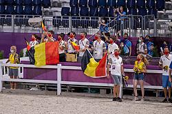 Supporters Team Belgium<br /> Olympic Games Tokyo 2021<br /> © Hippo Foto - Dirk Caremans<br /> 07/08/2021