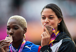06-08-2017 IAAF World Championships Athletics day 4, London<br /> Bronze Robeilys Peinado VEN, Yarisley Silva CUB, Pole Vault