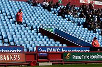 Photo: Glyn Thomas.<br />Aston Villa v Middlesbrough. The Barclays Premiership.<br />02/10/2005.<br /> Empty seats at Villa Park.