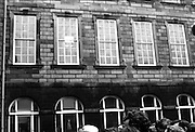 Belgian Royals King Baudouin and Queen Fabiola at Trinity College Dublin. Students and Gardai clash during a demonstration by students during the Royal Visit.<br /> 15.05.1968