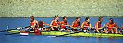 Sydney. AUSTRALIA. 2000 Summer Olympic Regatta, Penrith. NSW.  <br /> <br /> NED W8+ Bow. VENEMA, Anneke, 2. TER BEEK, Carin, 3. PENNINX, Nelleke, 4. VAN DISHOECK, Pieta, 5. VAN NES, Eeke, 7. ZWOLLE-APPELDOORN, Tessa, stroke, MEIJER, Elien, cox, QUIK, Martijnte<br /> [Mandatory Credit Peter SPURRIER/ Intersport Images] Sydney International Regatta Centre (SIRC) 2000 Olympic Rowing Regatta00085138.tif