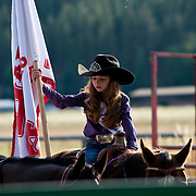 Darby Lil Miss Rodeo at the Darby Broncs N Bulls event Sept 7th 2019.  Photo by Josh Homer/Burning Ember Photography.  Photo credit must be given on all uses.