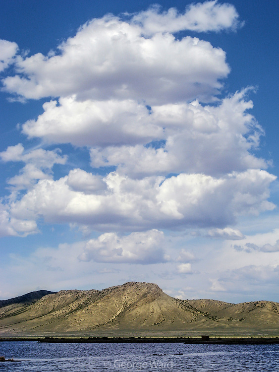 Cloud Formations over Ruby Marsh, Ruby Lake National Wildlife Refuge, Nevada