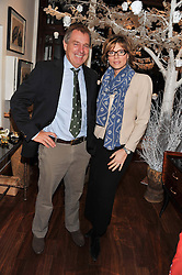 IAN CRAIG and KATE SILVERTON at the Lewa Wildlife Conservancy debate held at Patrick Mavros, 104-106 Fulham Road, London on 21st November 2012.