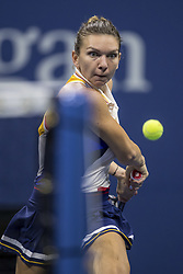 August 28, 2017 - New York, New York, USA - AUG 28, 2017: Simona Halep (ROU) during the 2017 U.S. Open Tennis Championships at the USTA Billie Jean King National Tennis Center in Flushing, Queens, New York, USA. (Credit Image: © David Lobel/EQ Images via ZUMA Press)