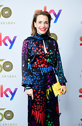 Laura Main attending the TRIC Awards 2019 50th Birthday Celebration held at the Grosvenor House Hotel, London.