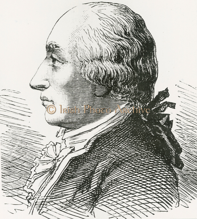 'Jacques Alexandre Cesar Charles (1746-1823) French scientist, mathematician and balloonist. Pioneered use of Hydrogen in ballooning. Professor of physcis at the Conservatoire des Arts et Metiers.'