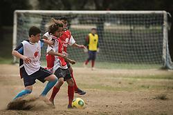 Lance da partida entre as equipes do São Miguel x E.C. 2014 válida pela Copa Coca-Cola 2013. FOTO: Jefferson Bernardes/Preview.com