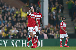 Jamie Paterson of Bristol City looks dejected after conceding - Mandatory by-line: Arron Gent/JMP - 23/02/2019 - FOOTBALL - Carrow Road - Norwich, England - Norwich City v Bristol City - Sky Bet Championship