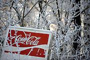 Ronse, Belgium, Jan 09, 2009, First snow, PHOTO © Christophe Vander Eecken
