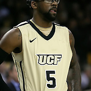 Marcus Jordan (5) during the first half of  a Conference USA NCAA basketball game between the Rice Owls and the Central Florida Knights at the UCF Arena on January 22, 2011 in Orlando, Florida. Rice won the game 57-50 and extended the Knights losing streak to 4 games.  (AP Photo/Alex Menendez)