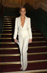 TARA PALMER-TOMPKINSON at the opening night of Cirque Du Soleil's 'Alegria' held at the Royal Albert Hall, London on 5th January 2007.<br />