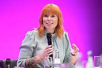 06 JAN 2020, KOELN/GERMANY:<br /> Karoline Herrmann, Vorsitzende der dbb Jugend,  Jahrestagung des Deutschen Beamtenbundes, Koeln Messe<br /> IMAGE: 20200106-01-263