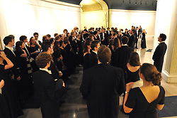 """""""Before the Show"""", Image from the Yale Glee Club performing Parents Weekend Concert at Woolsey Hall, Yale University New Haven CT, on 25 October 2008"""