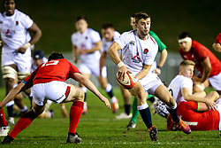 Tom de Glanville of England U20 - Mandatory by-line: Robbie Stephenson/JMP - 22/02/2019 - RUGBY - Zip World Stadium - Colwyn Bay, Wales - Wales U20 v England U20 - Under-20 Six Nations