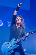 The Foo Fighters play the Pyramid Stage - The 2017 Glastonbury Festival, Worthy Farm. Glastonbury, 24 June 2017