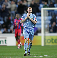 Photo: Lee Earle.<br /> Coventry City v Crystal Palace. Coca Cola Championship. 13/01/2007.Coventry's Kevin Kyle is pleased after scoring their second.