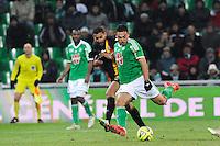 Goal Mevlut ERDING - 06.02.2015 - Saint Etienne / Lens - 24eme journee de Ligue 1 -<br />Photo : Jean Paul Thomas / Icon Sport