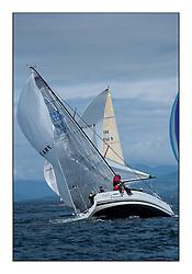 Largs Regatta Week - August 2012.Round the Island Race..FRA 37296,  Salamander XXI,  John Corson