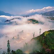 Vietnam Images-Landscape-cityscape-sapa Hoàng thế Nhiệm Phong cảnh Sapa