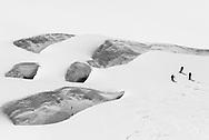 Zweitägige Skitour via Louwitor und Hollandiahütte auf das Mittaghorn mit Abfahrt ins Lötschental nach Fafleralp.