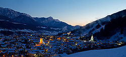 07.12.2012, Schladming, AUT, FIS Weltmeisterschaften Ski Alpin, Schladming 2013, Vorberichte, im Bild Schladming am Morgen des 07.12.2012 // Schladming in the morning on 2012/12/07, preview to the FIS Alpine World Ski Championships 2013 at Schladming, Austria on 2012/12/07. EXPA Pictures © 2012, PhotoCredit: EXPA/ Martin Huber