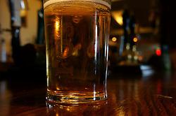 Pint in a pub UK