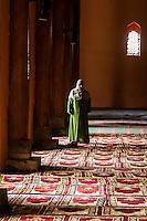 Jama Masjid Mosque, Srinagar, Kashmir, Jammu and Kashmir State, India. The mosque was built in 1394.