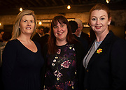 02/04/2019 Repro free:  <br /> Emma Dillon Leetch Connacht Hotel Group, Jill Holtz , Mykidstime and Mairin O'Reilly MOR Pr at Harvest in the Mick Lally Theatre , an opportunity to share ideas for innovation and growth and discuss how to cultivate the city as a destination for innovation, hosted by GTC  and Sponsored by AIB and The Sunday Business Post .<br /> <br /> A keynote address Start Up to Multinational - Positioning & Marketing Software for an International Audience from Joe Smyth, VP of R&D at Genesysat Genesys and a Panel Discussion on International Growth Through Innovation and Positioning<br /> Mary Rodgers- Innovation Community Managerat the Portershed (moderator)<br /> Kathryn Harnett- Senior Consultantat Milltown Partners LLP, Giovanni Tummarello, Founder and CPOat Siren,  Mark Quick, Founding Director 9th Impact and Founding Director, Nephin Whiskey, Nicola Barrett, Senior Marketing Managerat Connacht Rugby<br />  Photo: Andrew Downes, Xposure
