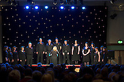 Medtronic Chorale at  Choir Factor 2014 in the Radisson blu Hotel, Galway in aid of SCCUL Sanctuary at Kilcuan, Clarinbridge . Photo:Andrew Downes.