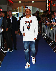 Gabriel Jesus arriving for the All or Nothing: Manchester City, world premiere at Vue Printworks, Manchester.