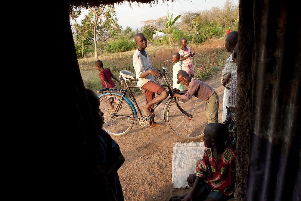 Children, Kotchola village Kenya.