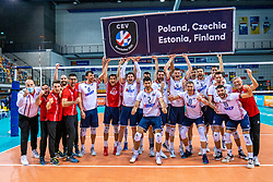 Croatias take the best second place and have a ticket for the CEV Eurovolley 2021 at Topsporthall Omnisport on May 16, 2021 in Apeldoorn, Netherlands