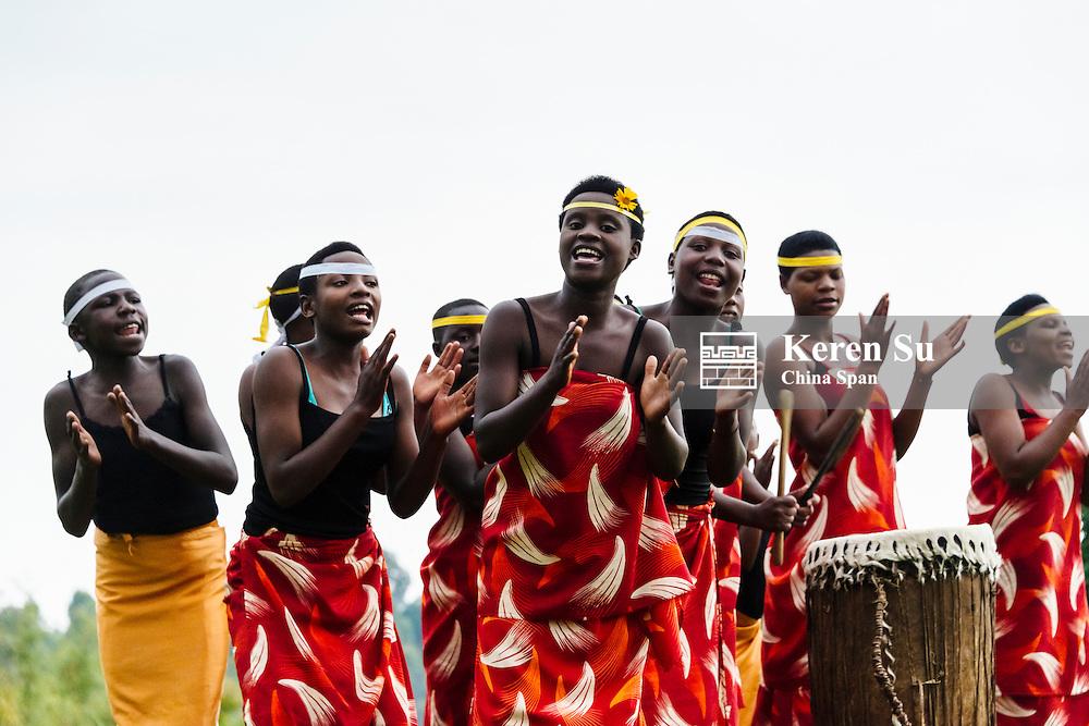 Traditional tribal dance, Rwanda