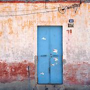 Sky Blue Door