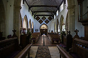St Margaret The Queen Buxted AD 1250 in the Parish of Buxted and Hadlow Down, Diocese of Chichester taken on Tuesday 21 May 2019 ahead of the Wedding of Holly and Julian in a service to be conducted by the Rector, Reverend Dr John Barker.
