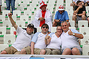 England fans during the Euro 2016 Group B match between Slovakia and England at Stade Geoffroy Guichard, Saint-Etienne, France on 20 June 2016. Photo by Phil Duncan.
