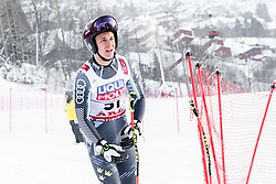 February 8, 2019 - Re, SWEDEN - 190208 Olle Sundin of Sweden at the downhill training during the FIS Alpine World Ski Championships on February 8, 2019 in re  (Credit Image: © Daniel Stiller/Bildbyran via ZUMA Press)