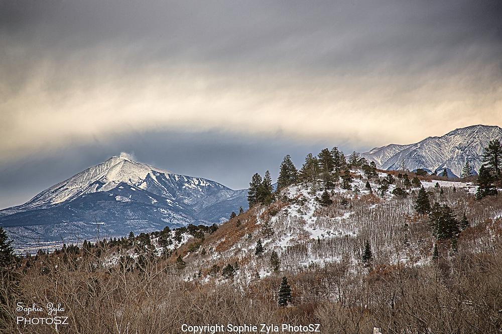 Colorado Mountain Pass Snow Storm