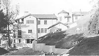 1925 Final days of construction of 1847 Camino Palmero