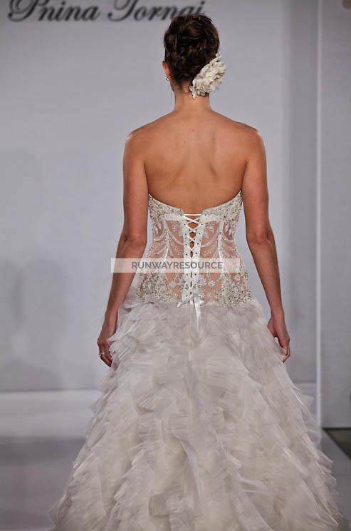 Pnina Tornai runway show during New York Bridal Spring 2012